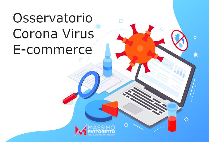 Gli E-commerce più visti dagli italiani ai tempi del Corona Virus