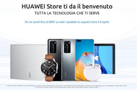 Huawei lancia il suo negozio ecommerce: tanti sconti sugli smartphone
