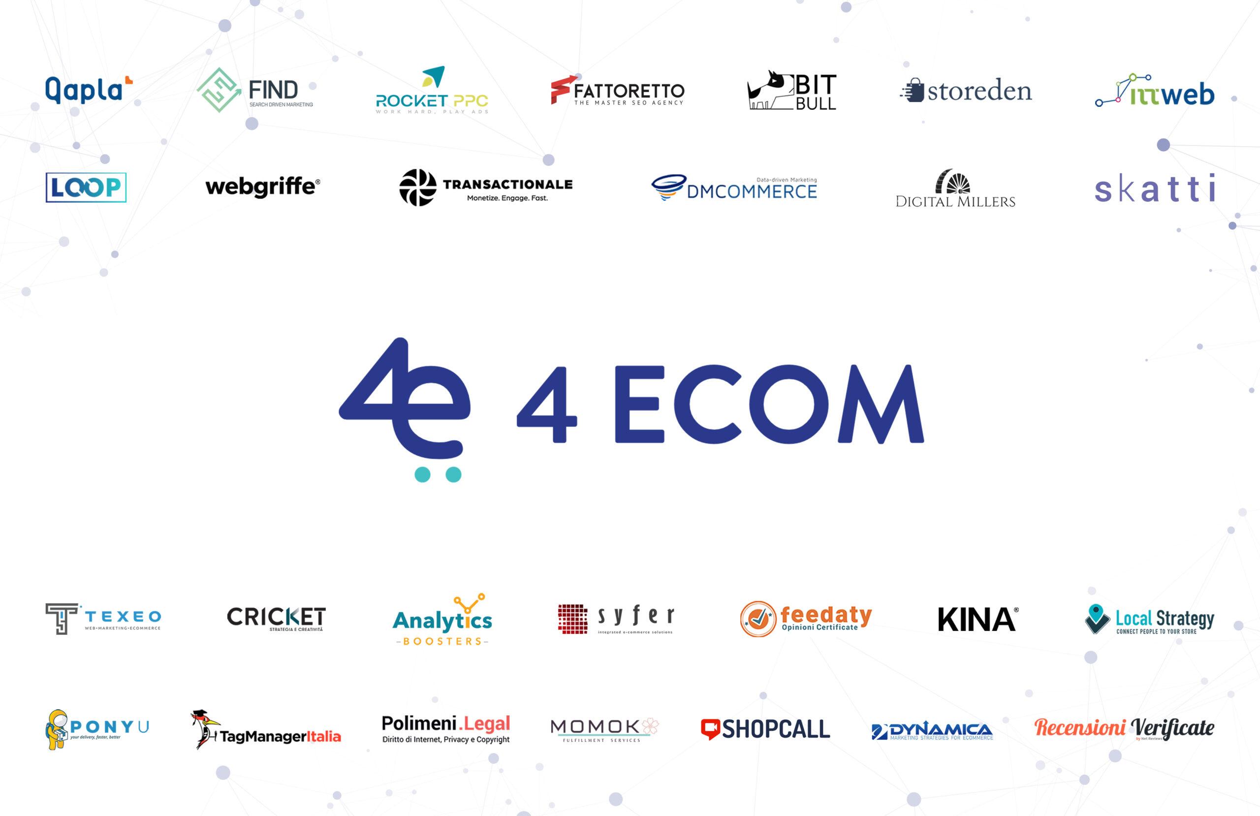 4eCom: l'associazione di soluzioni E-commerce Made in Italy