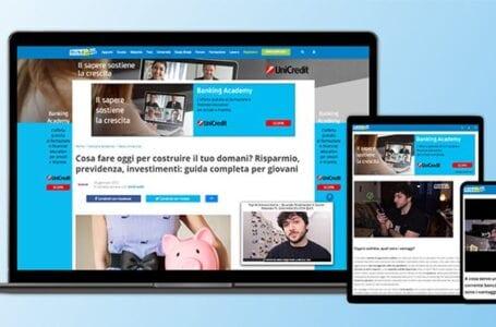 Il progetto di Skuola.net e Unicredit promuove l'educazione finanziaria tra le nuove generazioni