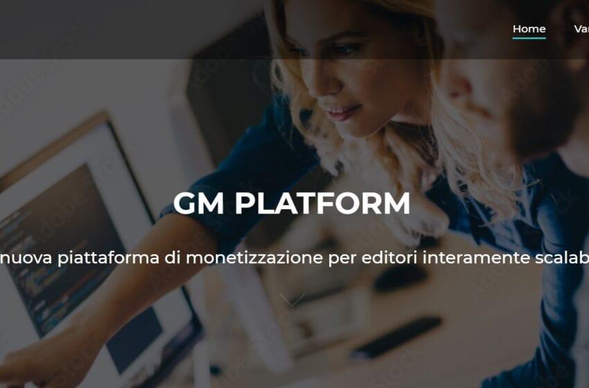 Adplay Media Holding annuncia la nascita di GM Platform