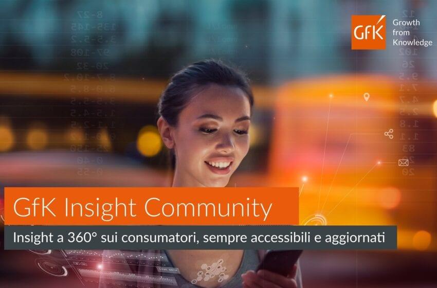 GfK Insight Community: una visione a 360° sui consumatori, sempre accessibile e aggiornata
