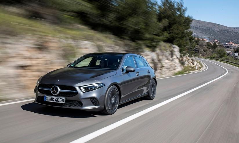 Comfort alla guida in ogni circostanza e AI con Mercedes Classe A