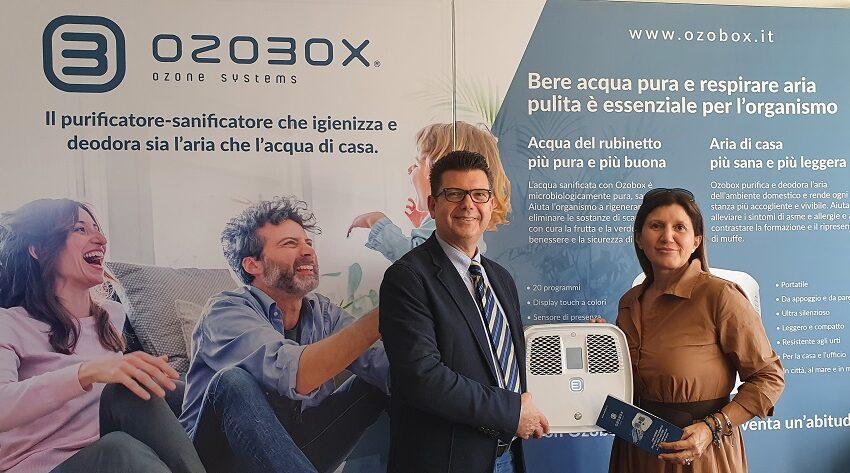 Ozobox, il brevetto italiano che depura l'acqua con tecnologie green